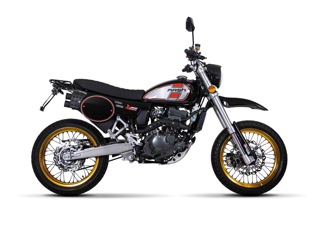 X-RIDE 125 Black