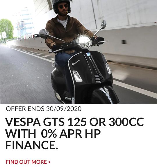 VESPA GTS 125/300 0% HP PROMO