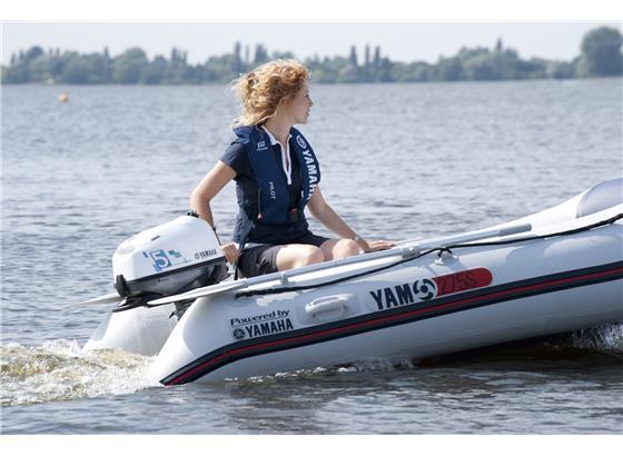 Yamaha 5hp 4 Stroke Outboard Long Shaft - RRP  £1,139