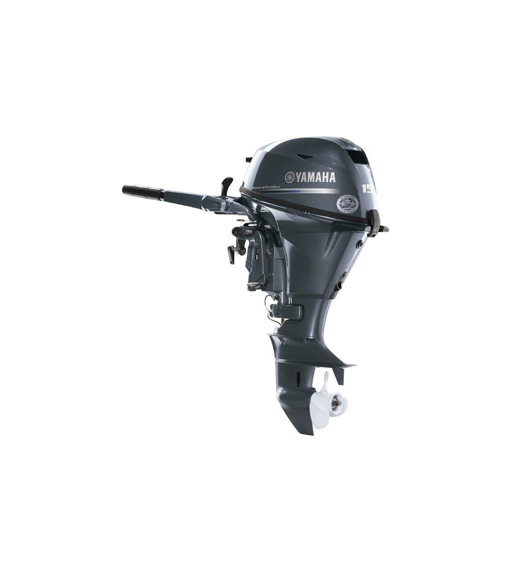 Yamaha 15hp Outboard Long Shaft Power Tilt - RRP - £3,279 - Image 1