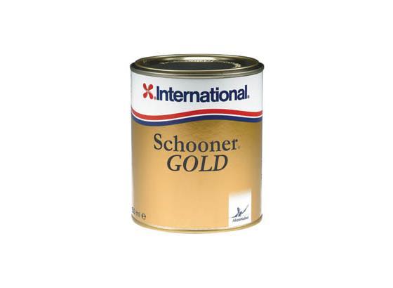 International Schooner Gold Varnish