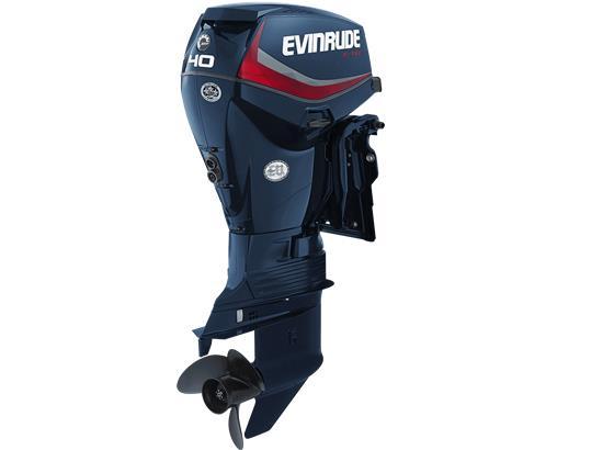 Evinrude E-Tec 40hp Outboard Engine - POA