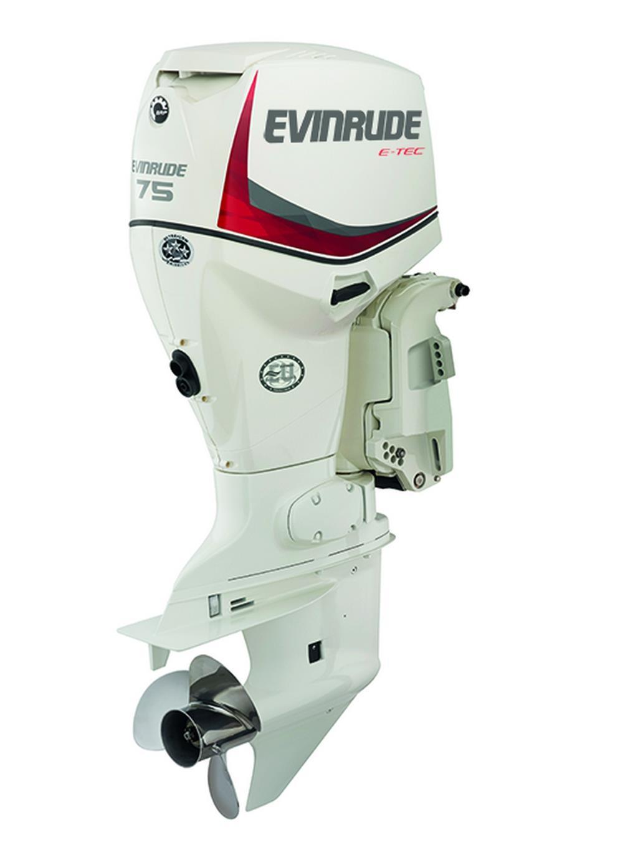 Evinrude E-Tec 75hp Outboard Engine - EX DEMO - Image 1