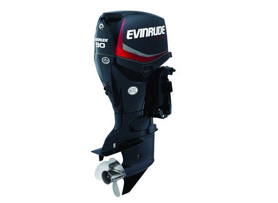 Evinrude E-Tec 90hp Outboard Engine - POA