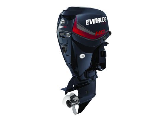 Evinrude E-Tec 90hp Outboard Engine HO Model - POA