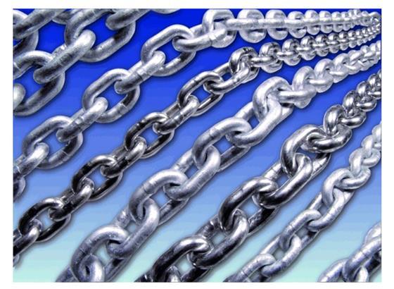 Galvanised Short Link Chain 8mm per/m