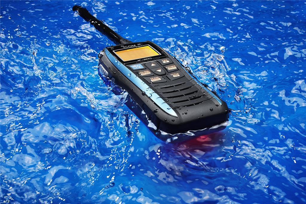 The all new Icom M25 hand held VHF Radio - Image 2