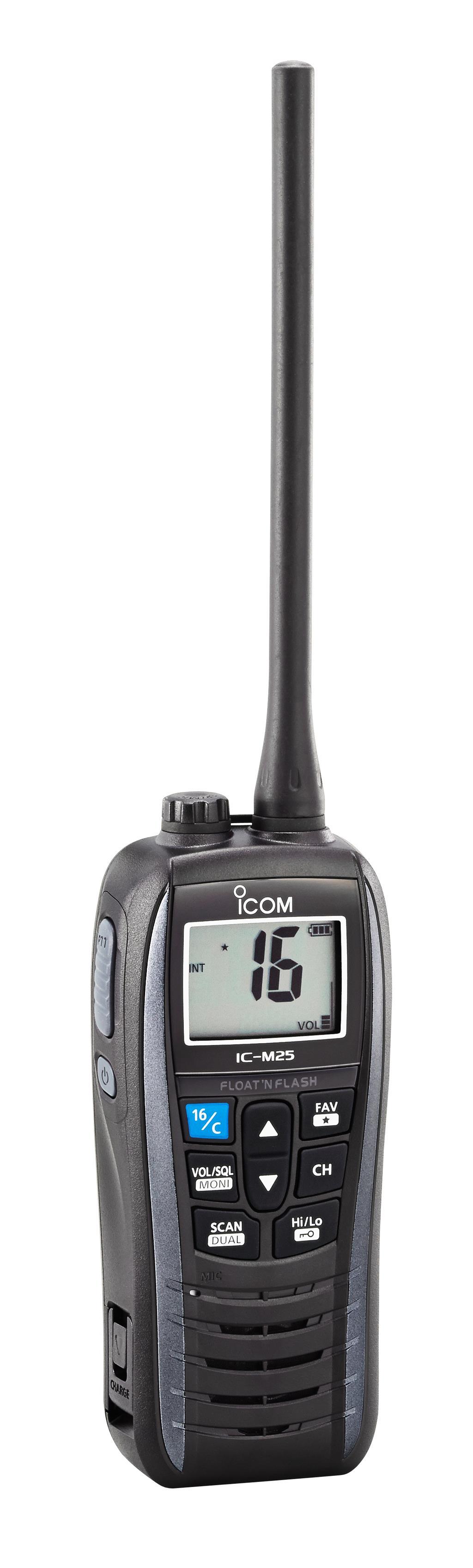 The all new Icom M25 hand held VHF Radio - Image 6