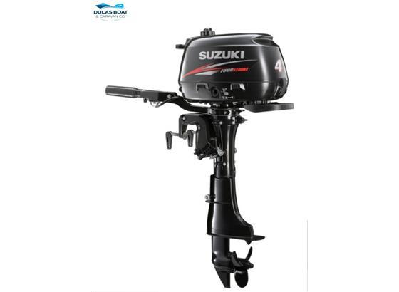DF4AL Suzuki 4hp Long Shaft 4 Stroke Outboard - POA