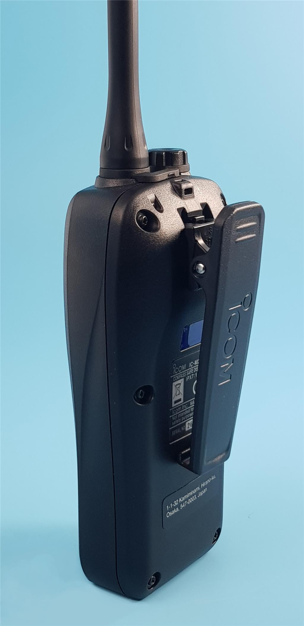 The all new Icom M25 hand held VHF Radio - Image 1