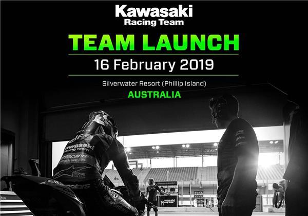 2019 Kawasaki Racing Team WorldSBK Team Launch Announced
