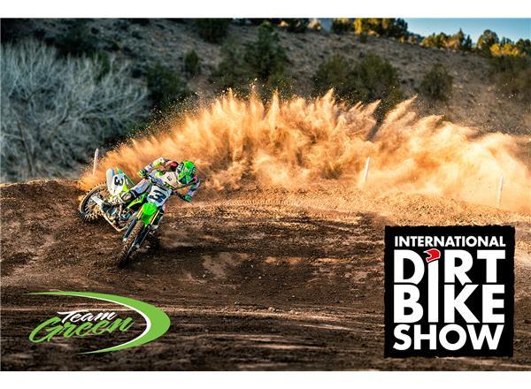 Kawasaki Motors UK and Team Green to exhibit at 2019 International Dirt Bike Show