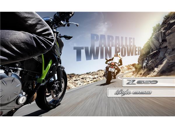 Parallel Twin Power - Ninja 650 & Z650