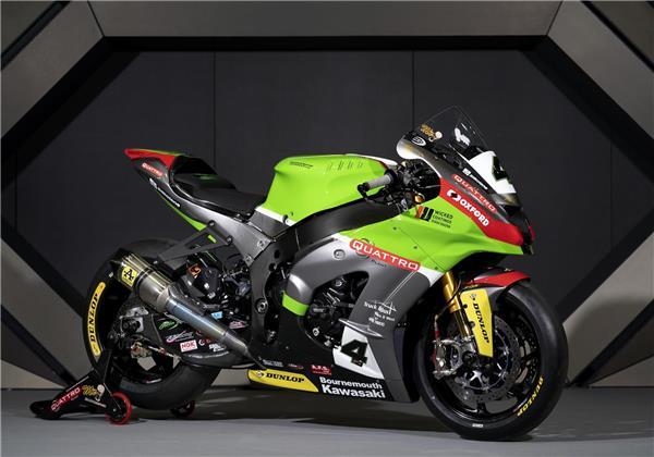 Quattro Plant Bournemouth Kawasaki Ninja ZX-10RR unveiled at 2020 MCN London Motorcycle Show