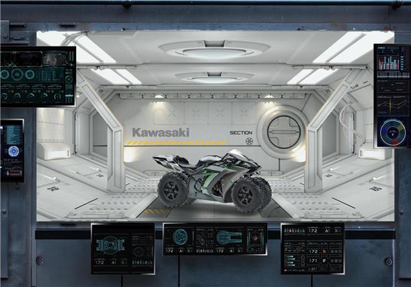 Kawasaki Motorcycle Division Sets Lunar Target