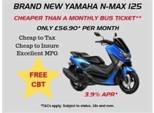 Free CBT with Brand New Yamaha N-Max 125