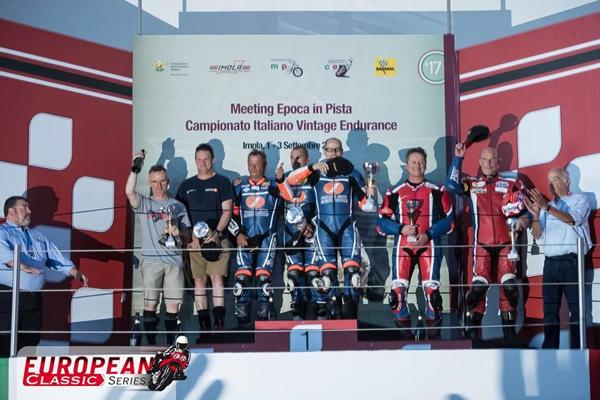 3rd round - Imola, Italy race summary