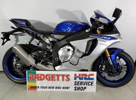 New Yamaha YZF-R1 BLUE